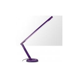 Lampa stołowa wąska fioletowa t5