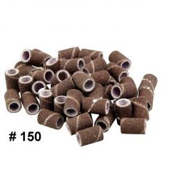 Nakładka frez do pedicure / mandrele 100 sztuk gradacja 150