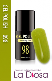Polish gel uv lakier hybrydowy 98