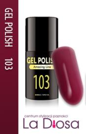 Polish gel uv lakier hybrydowy 103