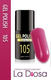 Polish gel uv lakier hybrydowy 105