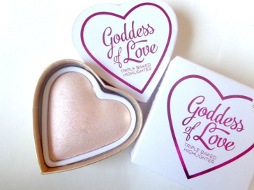 Rozświetlacz - i ♡ makeup - goddess of love triple baked highlighter