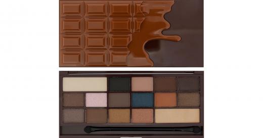 Paleta cieni makeup revolution i heart chocolate salted caramel
