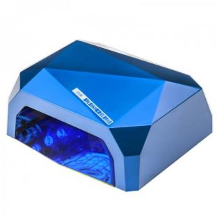 LED LAMPA CCFL UV 36W do LAKIERY HYBRYDOWE ŻELE UV sensor- niebieska