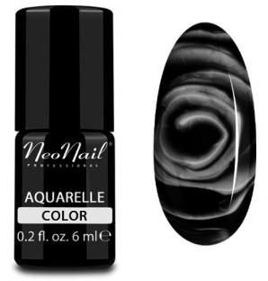Neonail lakier hybrydowy 6 ml - black aquarelle 5514