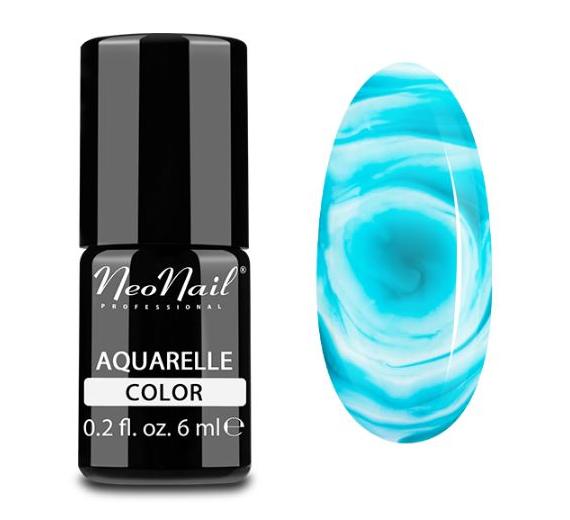 NeoNail Lakier Hybrydowy 6 ml - Emerald Aquarelle 5513