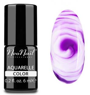 NeoNail Lakier Hybrydowy 6 ml - Purple Aquarelle 5509