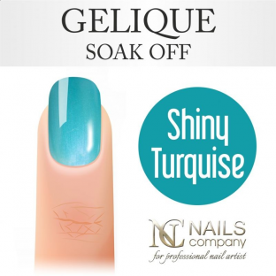 Nails company shiny turquise - lakier hybrydowy 6 ml