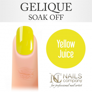 Nails company yellow juice - lakier hybrydowy 6 ml