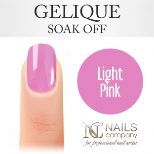 Nails company light pink - lakier hybrydowy 6 ml
