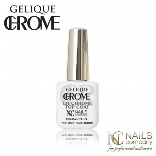 Gelique chrome - ch chrome top coat 6 ml