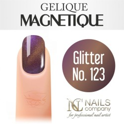 Nails company glitter no.123 - lakier hybrydowy magnetyczny 6 ml