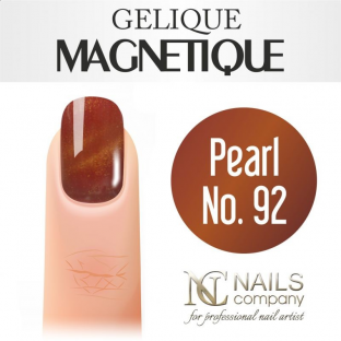 Nails company gelique magnetique 6ml - pearl no. 92