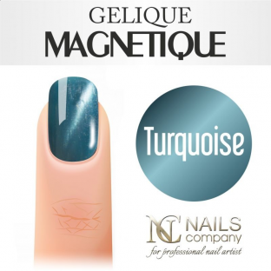 Nails company gelique magnetique 6ml - turquoise