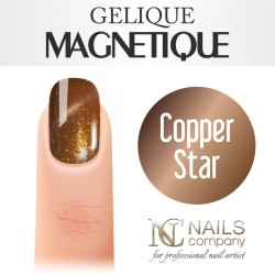 Nails Company Lakier Hybrydowy Magnetique 6ml Copper Star