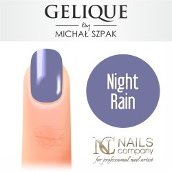 Nails company night rain gelique by michał szpak