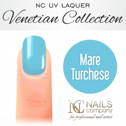 Nails company lakier hybrydowy, mare turchese 6ml