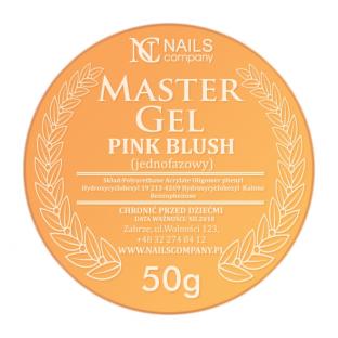 Nails company gel master pink blush jednofazowy 50g