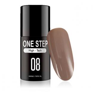 Gel polish lakiery hybrydowy 3w1 mono one step 5ml nr 08