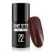 Gel polish lakiery hybrydowy 3w1 mono one step 5ml nr 22