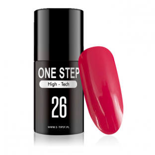 Gel polish lakiery hybrydowy 3w1 mono one step 5ml nr 26