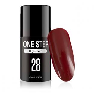 Gel Polish lakiery hybrydowy 3w1 mono One Step 5ml nr 28