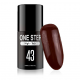 Gel polish lakiery hybrydowy 3w1 mono one step 5ml nr 43