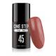 Gel polish lakiery hybrydowy 3w1 mono one step 5ml nr 45