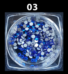 Cyrkonie szlifowane kolorowe ss6 1440 szt. nr c03