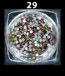 Cyrkonie szlifowane kolorowe ss6 1440 szt. nr c29