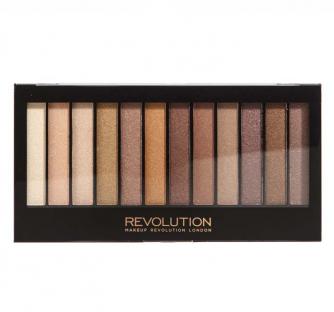 Makeup revolution paleta cieni essential shimmers