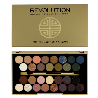 Makeup revolution paleta 30 cieni fortune the brave
