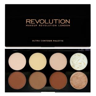 Makeup revolution ultra contour paleta bronzerów i rozświetlaczy