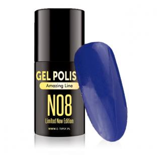 Polish gel uv lakier hybrydowy n08 5ml
