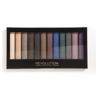 Makeup revolution paleta 12 cieni hot smoked