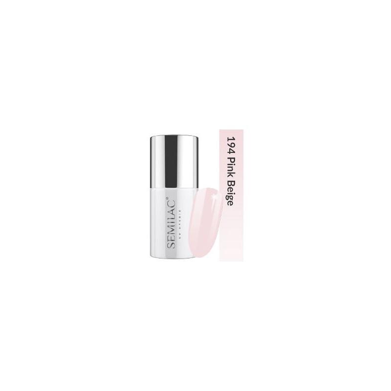 Semilac Lakier hybrydowy Business Line 194 Pink Beige