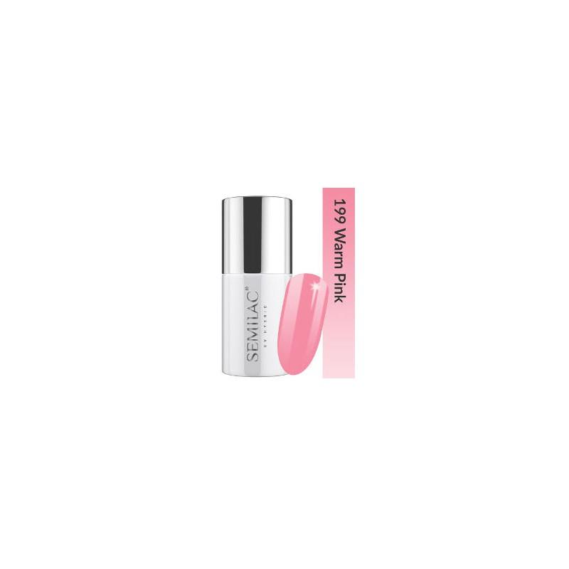 Semilac Lakier hybrydowy Business Line 199 Warm Pink