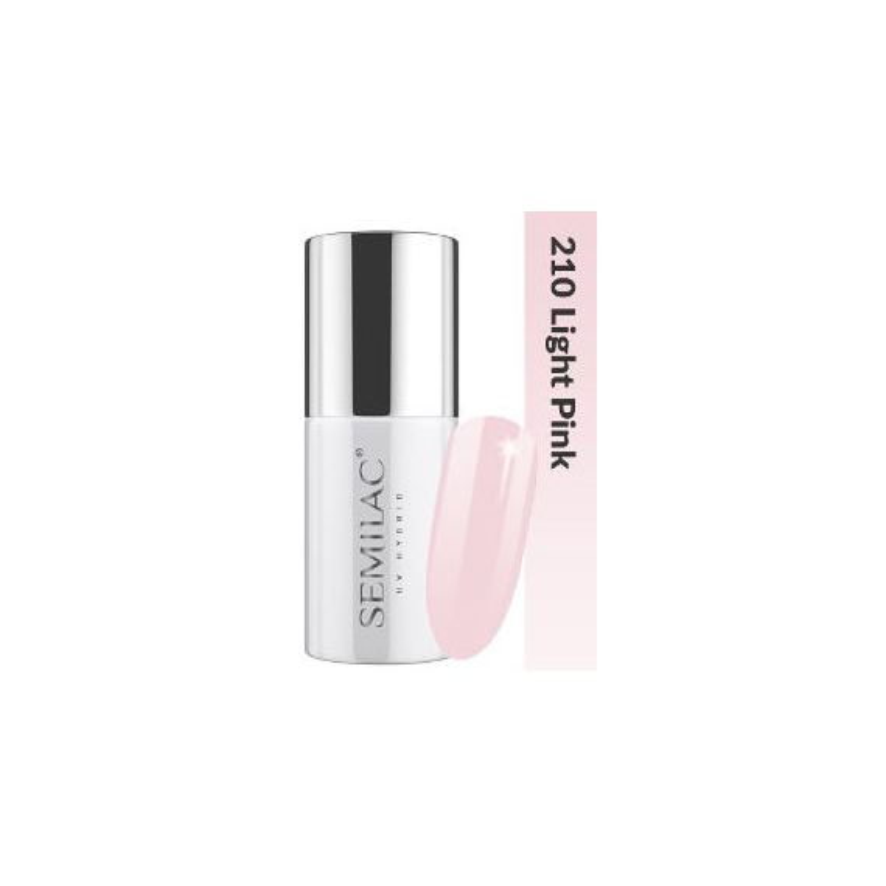 Semilac Lakier hybrydowy Business Line 210 Light Pink