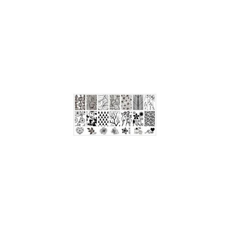 BLASZKI PŁYTKA STEMPEL rozmiar S 60x120 - JQ-L018