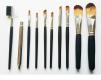 Zestaw profesjonalnych pędzli do makijażu 10x etui