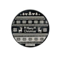 Blaszka świąteczna okrągła - hihi 060