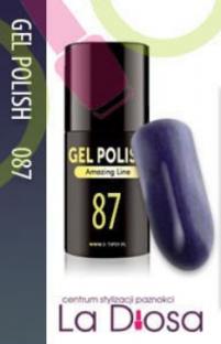 Polish gel uv lakier hybrydowy 87
