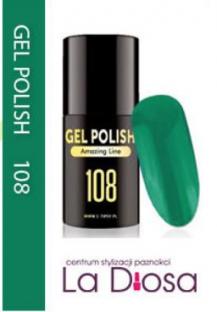 Polish gel uv lakier hybrydowy 108