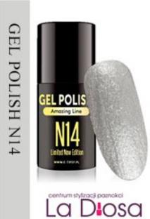 Polish gel uv lakier hybrydowy n14