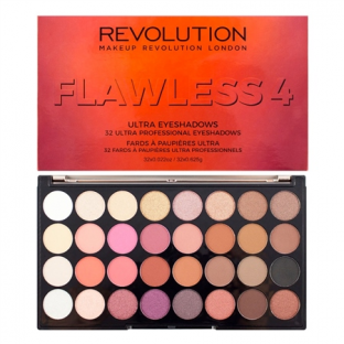 Makeup revolution paleta 32 cieni flawless 4 nowość