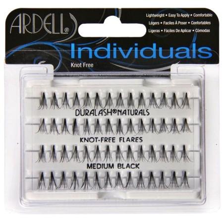 Ardell medium black rzęsy kępki bez węzełków 10mm