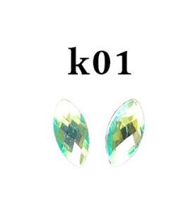Ozdoby 3d kryształki- k01