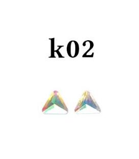 Ozdoby 3d kryształki- k02