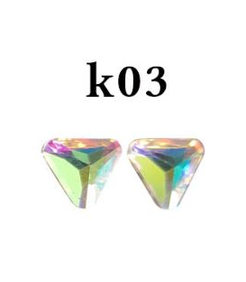Ozdoby 3d kryształki- k03
