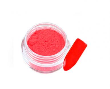 02 pyłek fluo uv neonowy pigment czerwony